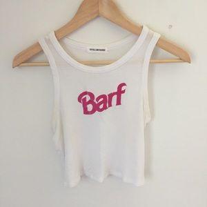 Barf crop top